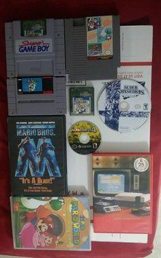 Nintendo Lot Mario Bros. Games Super Smash Bros. Brawl Mario Party 4