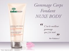 Gommage Corps Fondant NUXE BODY #nuxe #nuxebody - Parfumerie et parapharmacie - Nuxe