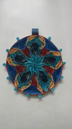 Quilled hanging #FeelingBlue