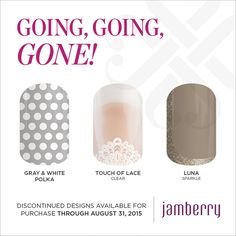 Shop at https://sawnya.jamberry.com/ https://flic.kr/p/vKd1qt | GGG Spring/Summer 2015