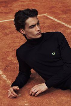 Tennis Court by Javi Dardo