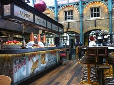 Union Jacks in Covent Garden, Greater London