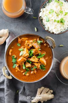 Whole30 Indian Butter Chicken (Lactose-Free) - 40 Aprons