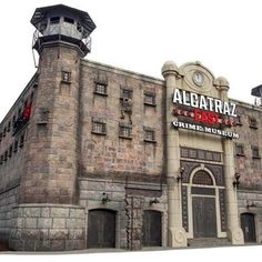 Alcatraz East Crime Museum at The Island in Pigeon Forge