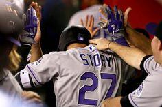 Rookie Trevor Story Bursts onto MLB Scene Looking Like Troy Tulowitzki's Heir | Bleacher Report 4/6/2016