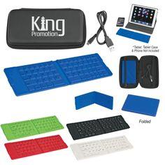 #2930 Folding Wireless Keyboard With Case