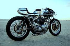 """'72 Triumph Bonneville - """"Silver Wasp"""""""