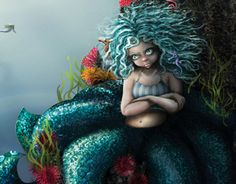 Popular Girl, Acceptance, Mermaids, Disney Characters, Fictional Characters, Behance, Animation, Graphics, Cool Stuff