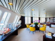 Aegean Odyssey's well-stocked library offers interesting books and superb views - where do you like to relax when onboard? Making Memories, New Adventures, What Is Life About, Travel Around The World, Southeast Asia, Relax, Outdoor Decor, Books, Home Decor