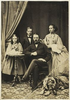 Alexandra and her family