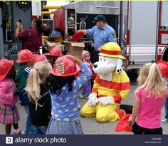 SPARKY THE FIRE DOG adult mascot costume