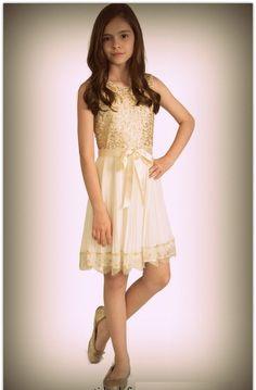 vestido sencillo para nina