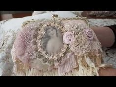 Altered Vintage Handbags & Lingerie Bags - YouTube