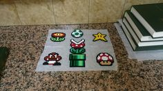 Mario Hama bead pixel art