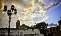 Atardecer en la plaza de Santa Lucia, Úbeda