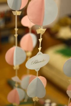 made for a bakery themed Paper Decorations, Hot Air Balloon, Facebook Sign Up, Bakery, Place Card Holders, Wedding, Valentines Day Weddings, Hot Air Balloons, Weddings