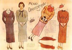 The Paper Collector: Movie Star paper dolls