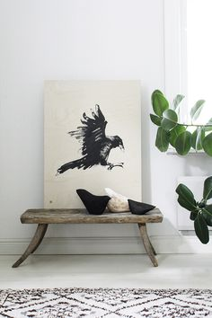 Susanna Vento for Teemu Järvi Illustrations #Scandinavian home interior. Natural* wood* neutral* colors* white* beige* greige* grey*