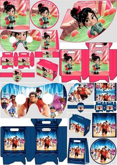 Wreck It Ralph: Free Printable Party Kit for Boys and Girls.