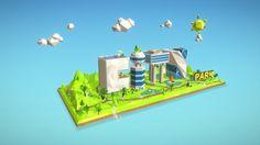 3D model: City Park by Max