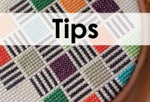 Cross stitch tips to help beginners stitchers. Find out more at www.sprucecraftco.com