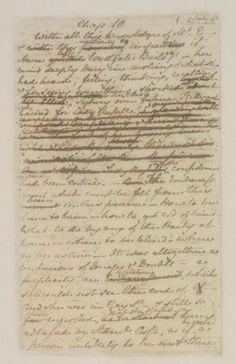 Persuasion's original manuscriptum