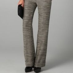 Phillip Lim Cuffed Flat Front Tweed Trouser 8 NWT 3.1 Phillip Lim Multicolor Cuffed Textured Flat Front Size 8 Trousers. They r high waisted, wide-leg tweed pants.  82% Wool, 8% viscose. Lining 100% silk.  Wear these statement with a luxurious washed silk Ivory blouse and wedge heels. 3.1 Phillip Lim Pants Trousers