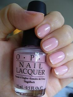 OPI - Sweet Memories...Obsessed with this neutral pink! It's perfect with my skin tone.Only reason I'm pinning it is because I always forget the name of the color.