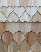 Welcome to Fancy Shingles ~ The Original Custom Cut Cedar Shingles Cedar Shingle Siding, Cedar Shake Siding, White Siding, Cedar Shakes, Cedar Shingles, Architectural Shingles Roof, Siding Options, Roofing Felt, Roof Design
