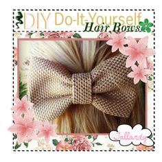DIY Hair Bows with just scissors, hot glue and fabric! NOTE: click the link in the description on the right . So cute and simple ♥ Diy Baby Headbands, Diy Hair Bows, Diy Headband, Headband Hairstyles, Diy Hairstyles, Hair Bow Tutorial, Diy Projects To Try, Diy Flowers, Diy Beauty
