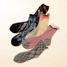 見ているだけでワクワクする♪アンティパストの靴下がとっても可愛い!
