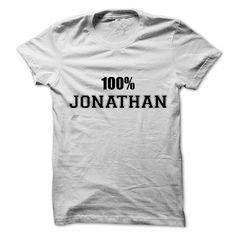 100% JONATHANJONATHAN100% JONATHAN