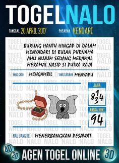 Angka Ikut 3D Togel Wap Online TogelNalo Kendari 20 April 2017