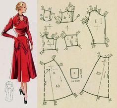 Bodice pattern Corset Sewing Pattern, Barbie Sewing Patterns, Vintage Dress Patterns, Doll Clothes Patterns, Sewing Clothes, Clothing Patterns, Diy Clothes, Bodice Pattern, Barbie Vintage