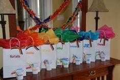 "Photo 6 of Rainbow / Birthday ""Somewhere over the Rainbow"" Rainbow Parties, Rainbow Birthday Party, Art Birthday, Birthday Party Games, 6th Birthday Parties, Unicorn Birthday, Rainbow Party Favors, Birthday Ideas, My Little Pony Party"