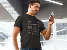 Gamer Shirt Through The Ages  Gamer T-Shirt Gamer Gifts