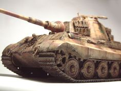 Zoom avant (dimensions réelles: 1000 x Tiger Ii, Bengal Tiger, World War Two, Military Vehicles, Two By Two, Gun Turret, Scale Model, World War Ii, Army Vehicles