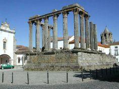 Templo da deusa romana Diana, Évora