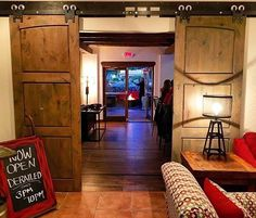 New Post by @SimplySantaFeNM on #Instagram: The doors are finally open (and they're really nice looking doors too!) at the new restaurant @derailedsantafe located inside the Sage Inn! Check them out for a late lunch or for dinner as they're open 3-10pm and let us know what you try/recommend! Thanks Derailed for tagging #SimplySantaFe!