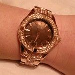 #seksy #rose #gold #sparkle #watch