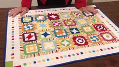Miniature Scrap Quilts - Mill House Quilts' Tutorial #9