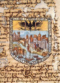 Escudo de Pizarro  Una Mirada al Nuevo Mundo: Tesoros del Archivo General de Indias