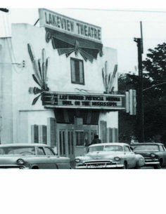 Lakeview Theater was located at 800 Harrison Ave.  It closed in 1971.  There is a Starbucks there now.