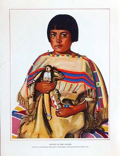 """Original prints from """"Blackfeet Indians of Glacier National Park"""" published by. Great Northern Railway Co, St. Paul Minn. 1940 (first series):"""
