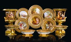 dinner and dessert services ||| sotheby's l16323lot978rqen