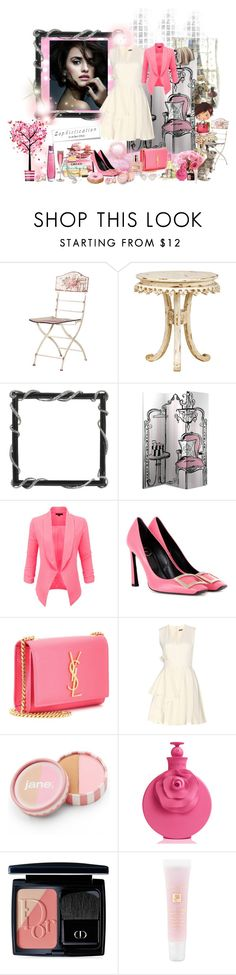 """""""Sophistication is in her DNA  (3rd February 2016)"""" by angela-coulter ❤ liked on Polyvore featuring LE3NO, Roger Vivier, Yves Saint Laurent, duty free, Alexander McQueen, Acne Studios, jane, Christian Dior, Lancôme and women's clothing"""