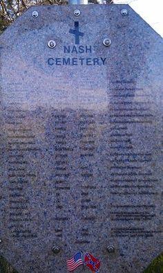 Nash Cemetery, Madison county Texas