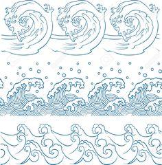 10849204-ocean-wave-repeated-pattern-Stock-Vector-japanese.jpg 1,275×1,300 pixels