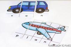 Transportation Word Puzzles