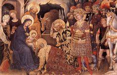 Gentile da Fabriano: Adoration of the Magi, 1423